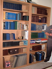 David Lange's Coin Album Collection Room