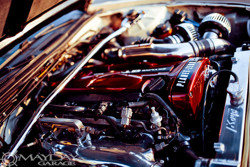 Just because its red doesnt mean its an SR20DET.