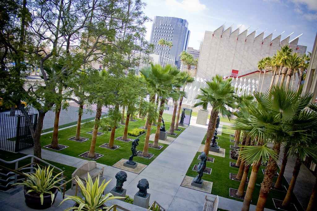 Sculpture Garden at LACMA
