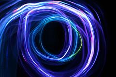 LED Light Tunnel (Audiotribe) Tags: led leds tunnel swirl purple pink christmas trails light color star christmasstar ledstar sooc denmark danmark lightpainting lightpaint motion ledgraffiti exposure shutterspeed eos 400d lys diode ring flare canon art colour abstract