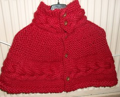 shoulder wrap! (beaniebanks) Tags: hat drops hand wrap gloves knitted shoulder shrug wristwarmers handknitted cabled