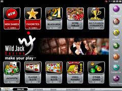 Wild Jack Casino Lobby