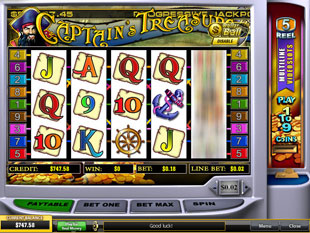 Captain's Treasure slot game online review