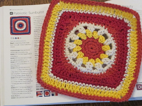 #65 Patriotic Sunburst