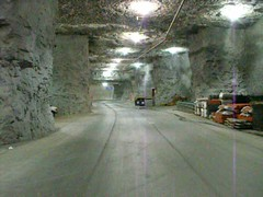 """Video: Driving in The Caves in Springfield MO (Steve """"Tuco"""" Jacobs) Tags: bridge truck nebraska mine trucker mo caves missouri crete omaha cave springfield tunnels mack quarry miner trucking peterbilt kenworth shaffer freightliner tuco cabover filthyfew nydm fujifinepixs1000fd diabolicpossession"""