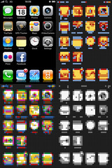 Lego iPhone UI (JamesRoseUK) Tags: apple mac lego pixels tuaw  iphone mobileupload