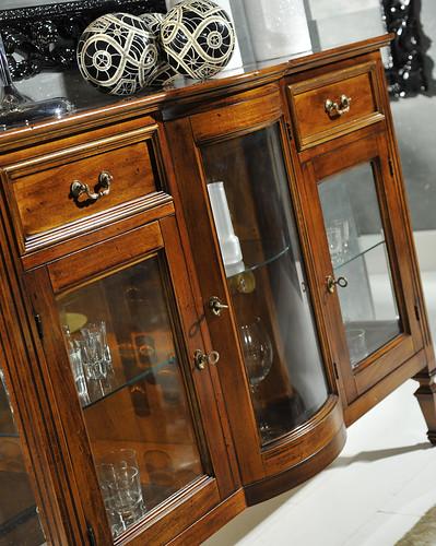 Frison Renzo Snc: Vetrina sagomata - Glass cabinet