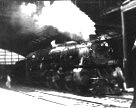 Reading Company Pacific 4-6-2 class G2sa in Reading Terminal, Philadelphia.  (with Agfa Memo half frame camera)