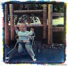 Paul1968 (squaremeals) Tags: portrait baby gum walker alternative cyanotype gumbichromate altprocess gumprint