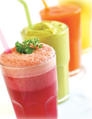 smoothies-at-DADA-Kafe-Chiangmai