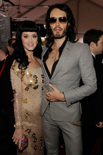 Katy Perry Russell Brand Grammy 2010