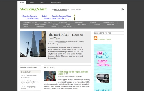 WorkingShirt Online Magazine
