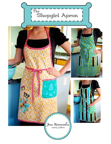 Shopgirl Apron Cover