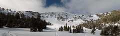 Panorama - Mt Blackmore, East Face- Gallatin Mountain Range Photo