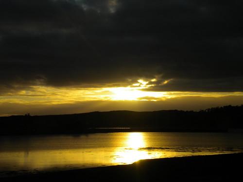 Sunset 9 February