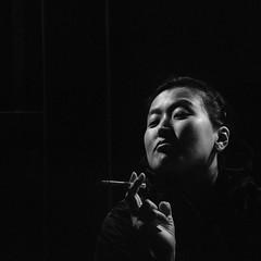 (BLF_is_back) Tags: portrait bw night cigarette taiwan lowkey taiwanese d300 carrfranais