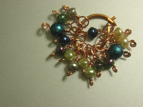 Lace stitch markers