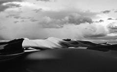 Sea of sand (patrick colgan) Tags: blackandwhite sand dunes morocco merzouga ergchebbi
