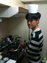 たつをシェフ、黒毛和牛ステーキを水島弘史先生の教えに従って焼 く。うますぎ!