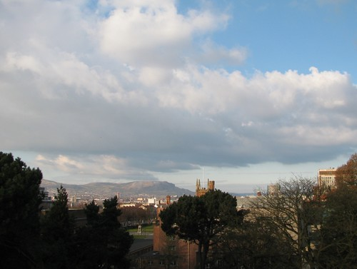 View of Belfast from the Ulster Museum