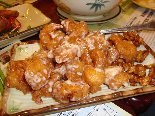 Honey Walnut Shrimp @ Tasty Garden