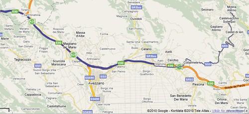 kort fra motorvejsfrakorsel til molina copy