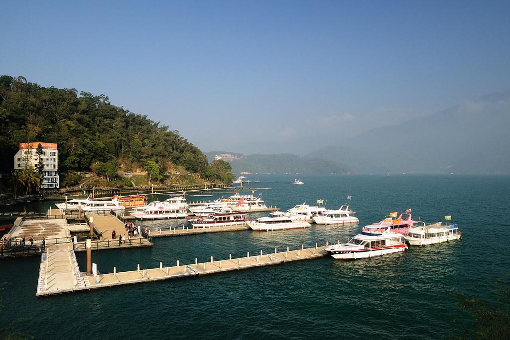 日月潭 水社碼頭 取景
