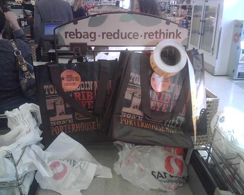 Rebag, reduce, rethink