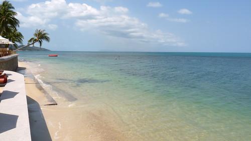 Koh Samui Mimosa Resort-Beach コサムイ ミモザリゾート1