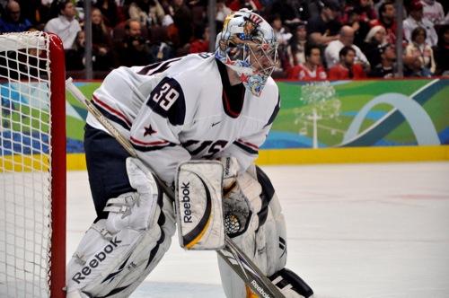 USA - Norway Olympic Hockey Game