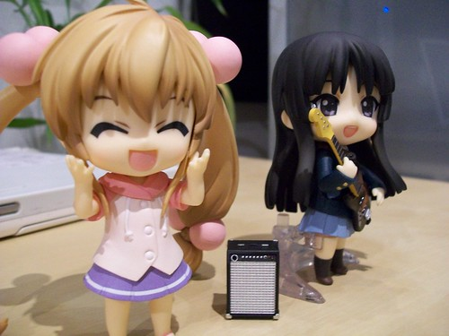 Rin likes the music