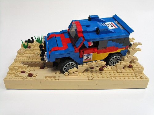 LEGO Pirate_Cat VW desert rally car