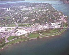 Fort Erie Aerial Shot
