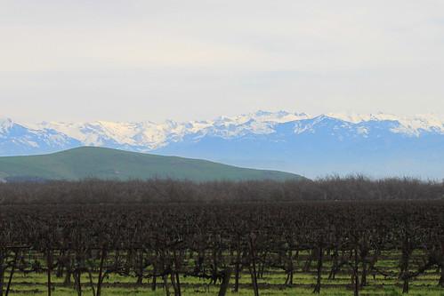 Sierra Nevadas from Visalia