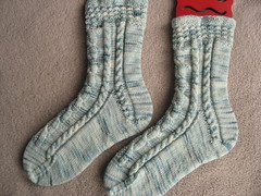 Alice socks finished