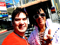 Will The Real Elvis Please Stand Up??? (tacosnachosburritos) Tags: las vegas venice baby gambling money paris time stormtroopers fake elvis casino gaudy tables lives lame midget genesimmons viva newyorknewyork cheesey overthetop phony slotmachines wasteof