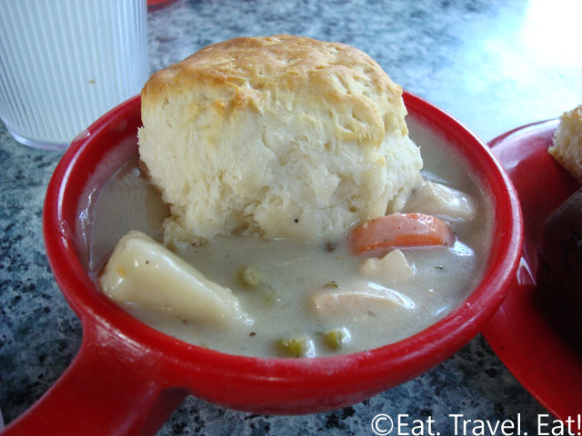 Biscuit and Chicken Pot Pie Stew