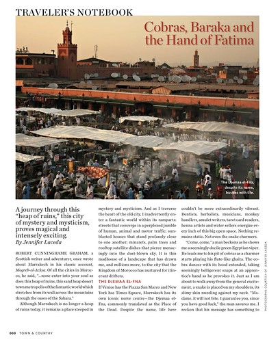 Cobras, Baraka, and the Hand of Fatima - Marrakech Magic