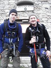 Siebe en Mark in de Alpen