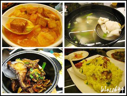 蟹黃豆腐、鮮湯薑絲湯、三杯錢鰻、芙蓉炒蟹