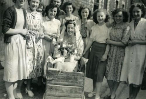 Templetons Carpet factory girls, 1947