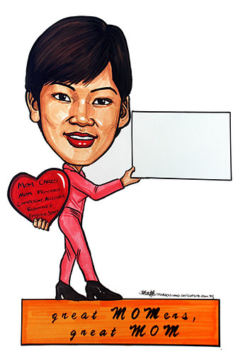 Caricature for Ministry of Manpower - 2