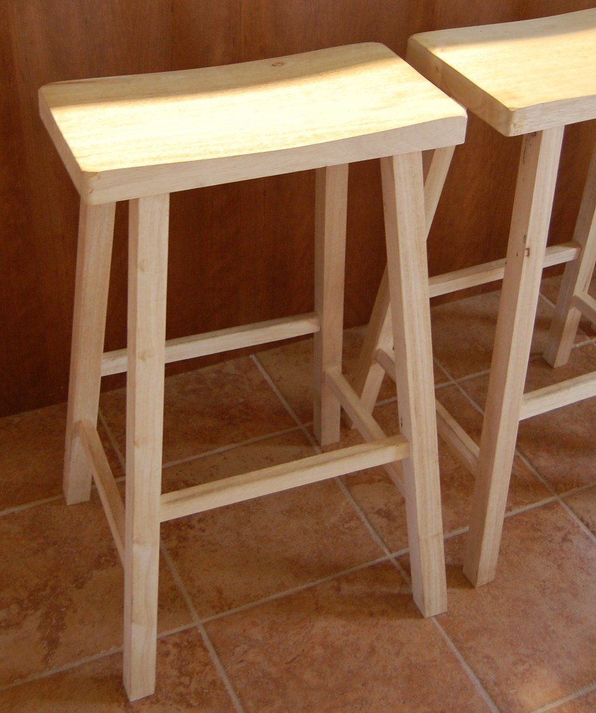 Unfinished Furniture: Stools For Around The Island In Our Kitchen