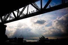 Harbour Bridge over Opera House
