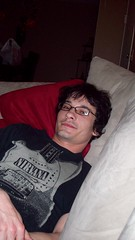 My hubby (CassieL33) Tags: nirvana husband couch lounging siouxcity