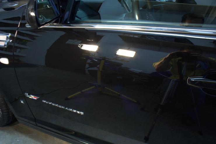 2008 Cadillac STS-V halogen shots
