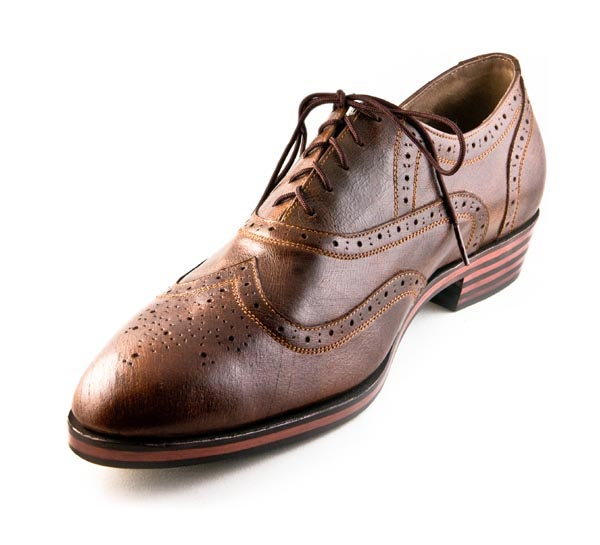 Figura 03 Shoes40_Fully Brogued Wingtip Oxford in Brown Museum Calf