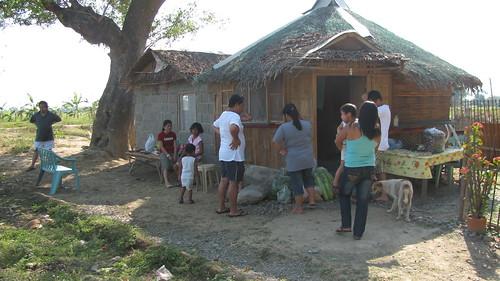 Nipa hut, Pangasinan, Philippines
