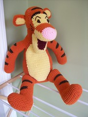 Crocheted Tigger front
