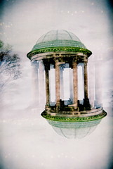 Petworth Monument 180 (Explore) (25ThC) Tags: camera abstract film analog holga lomo lomography exposure fuji superia doubleexposure double explore 400 british analogue expired expiredfilm fujisuperia fujisuperia400 explored 135bc holga135bc 25thc